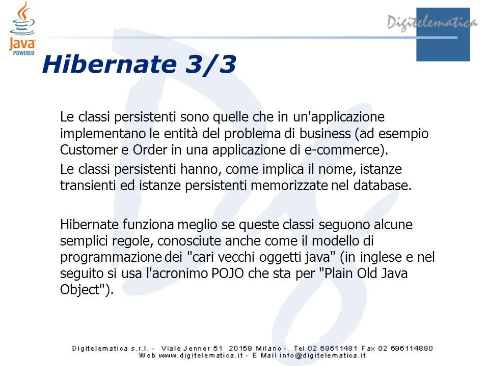 Hibernate 3/3
