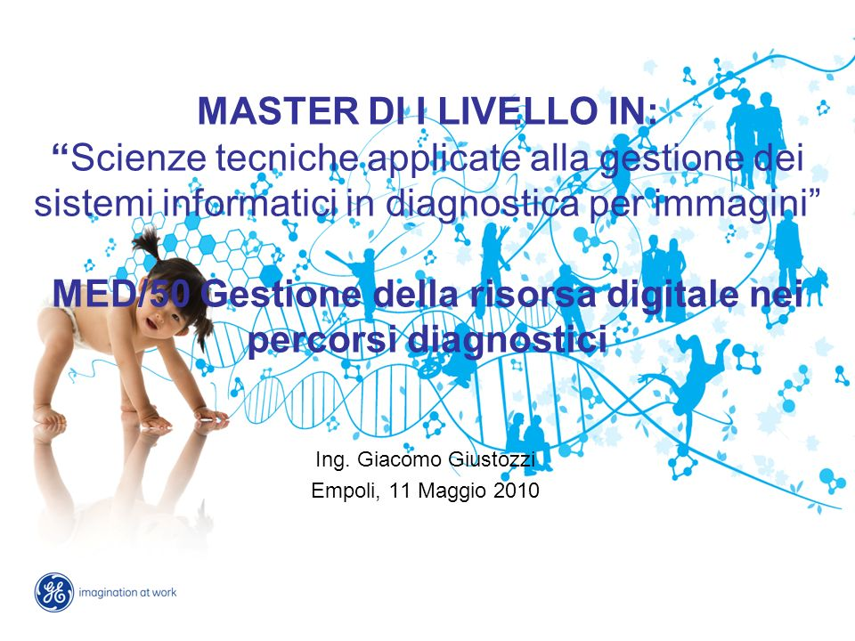Ing. Giacomo Giustozzi Empoli, 11 Maggio 2010