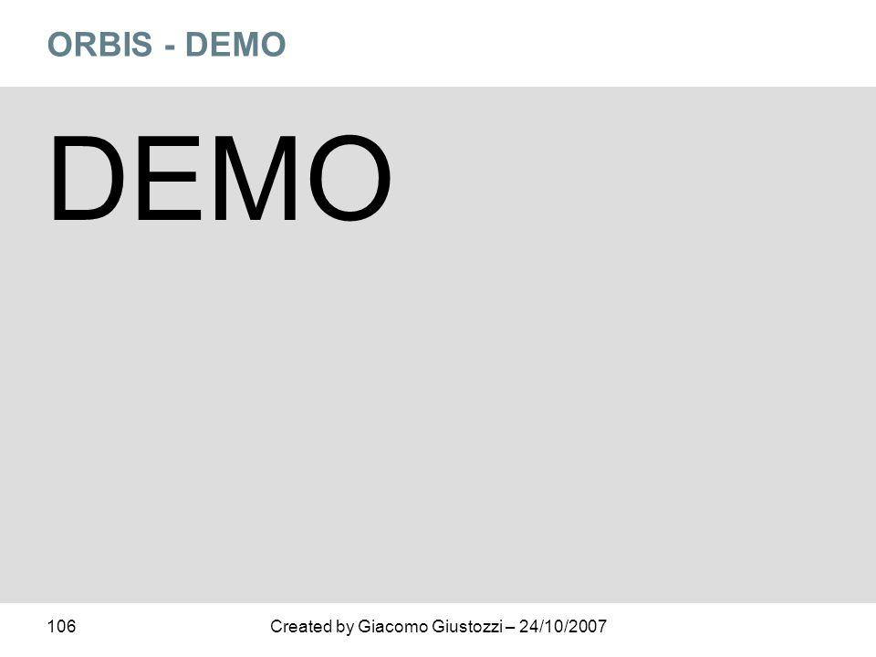 ORBIS - DEMO DEMO