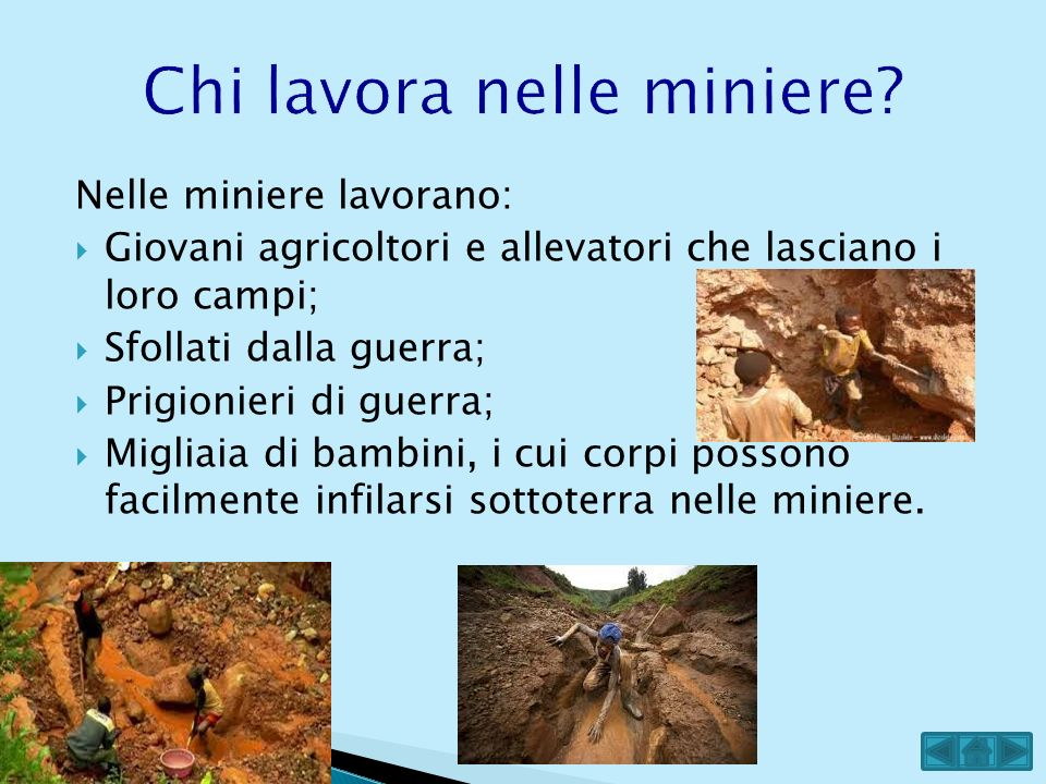 Chi lavora nelle miniere