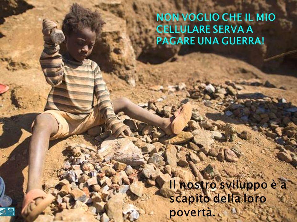 Il nostro sviluppo è a scapito della loro povertà.
