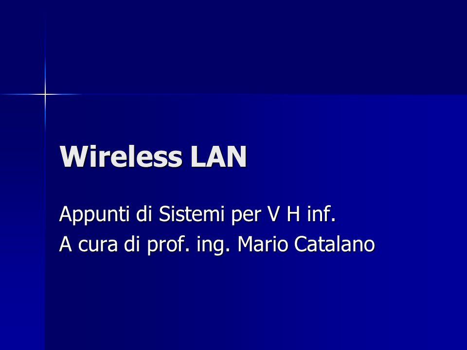 Appunti di Sistemi per V H inf. A cura di prof. ing. Mario Catalano