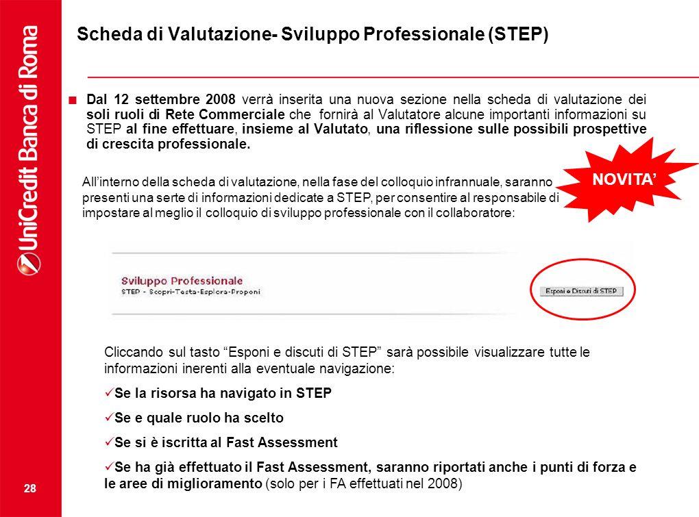 Scheda di Valutazione- Sviluppo Professionale (STEP)