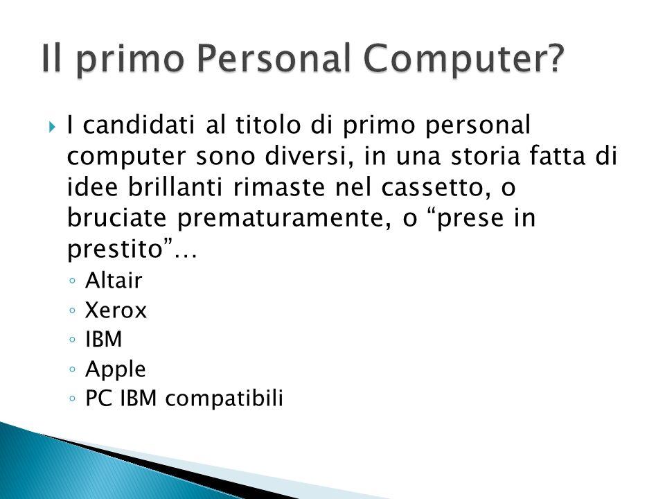 Il primo Personal Computer