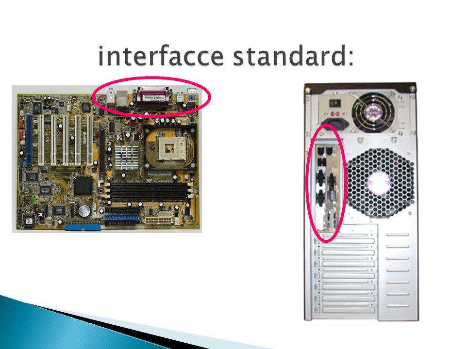 interfacce standard: