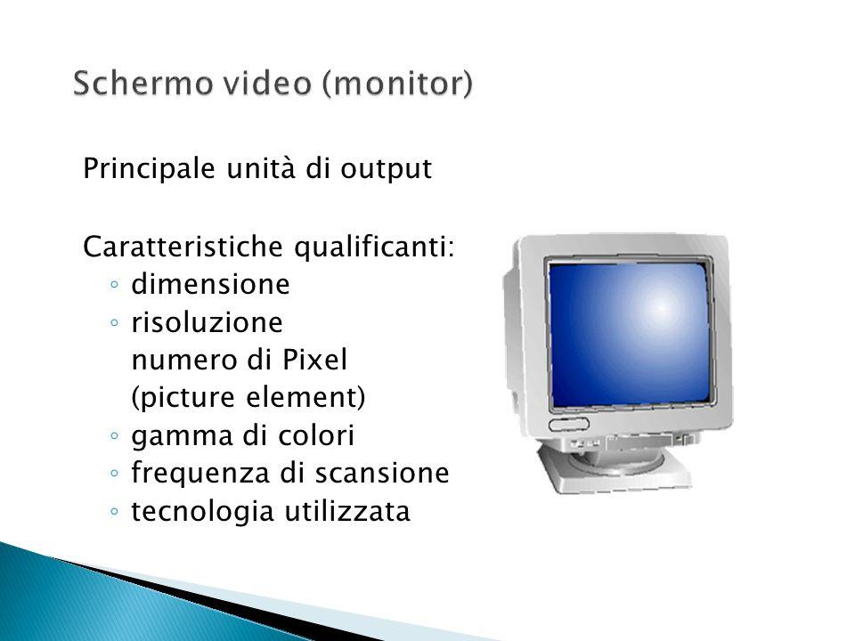 Schermo video (monitor)