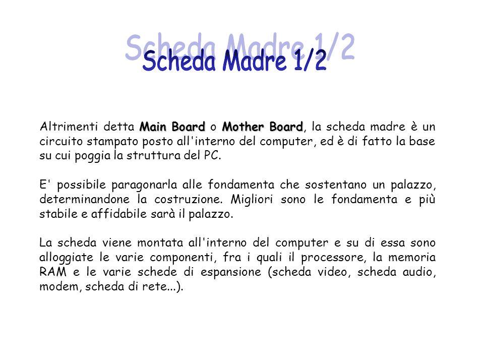 Scheda Madre 1/2