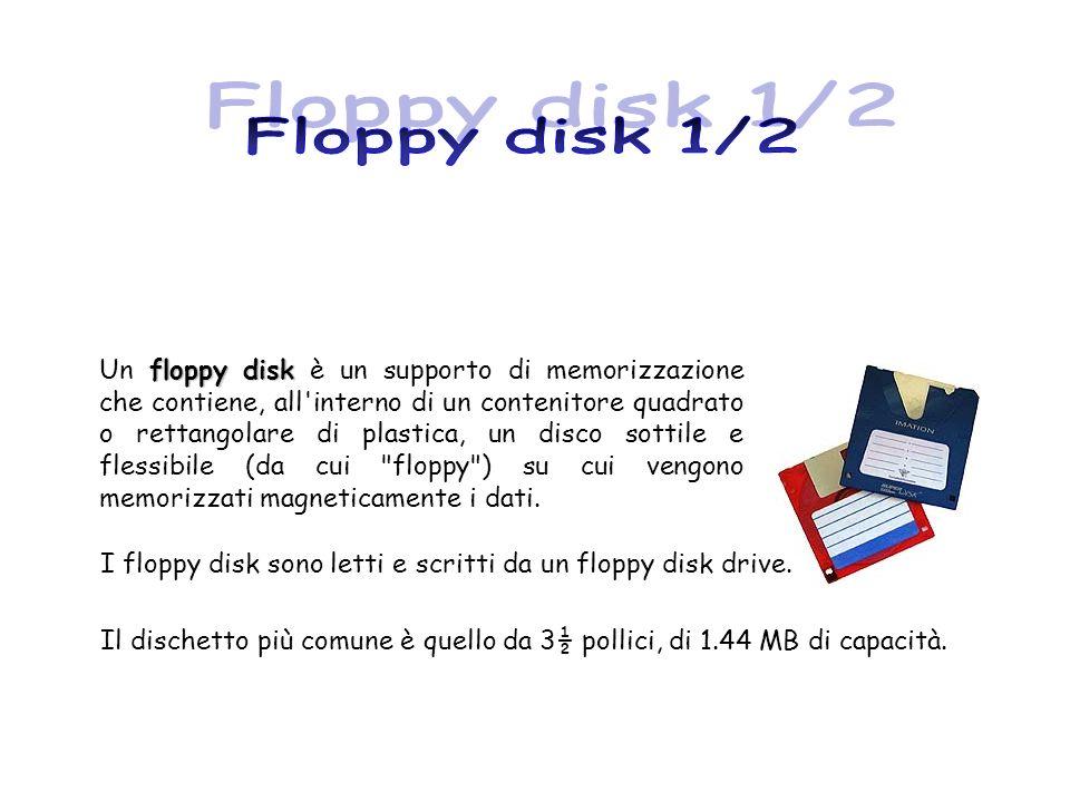 Floppy disk 1/2