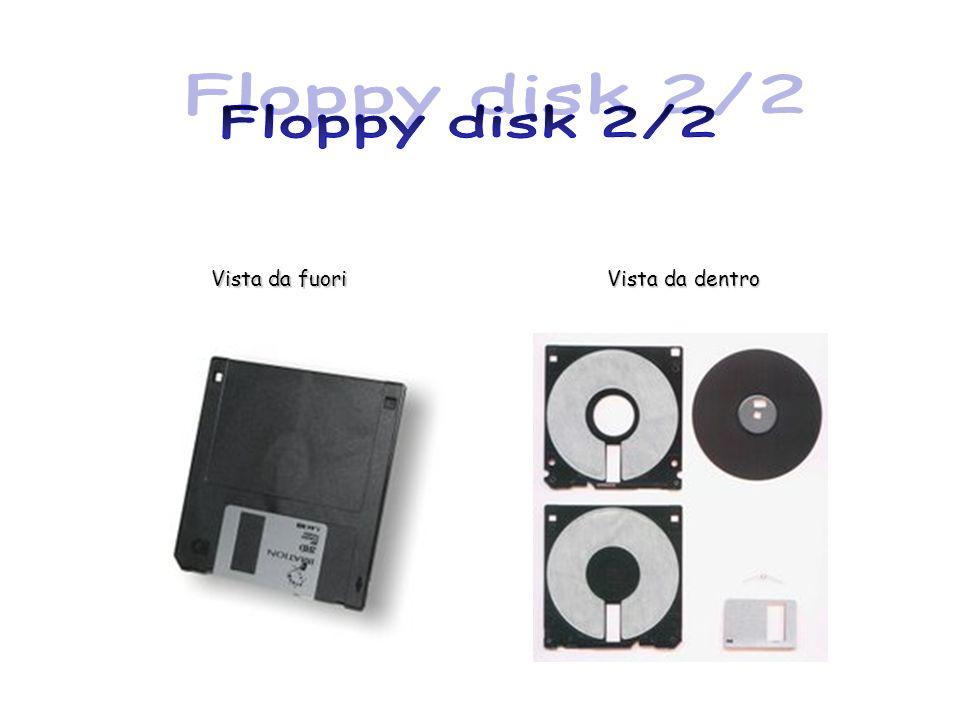 Floppy disk 2/2 Vista da fuori Vista da dentro