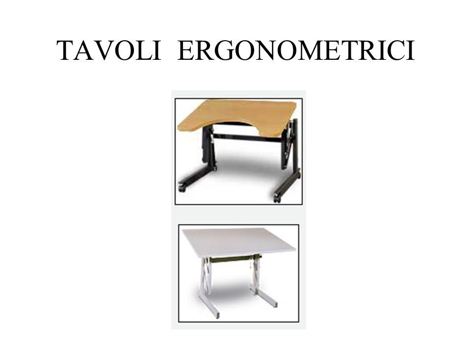 TAVOLI ERGONOMETRICI