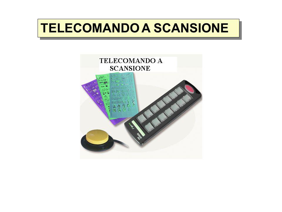 TELECOMANDO A SCANSIONE