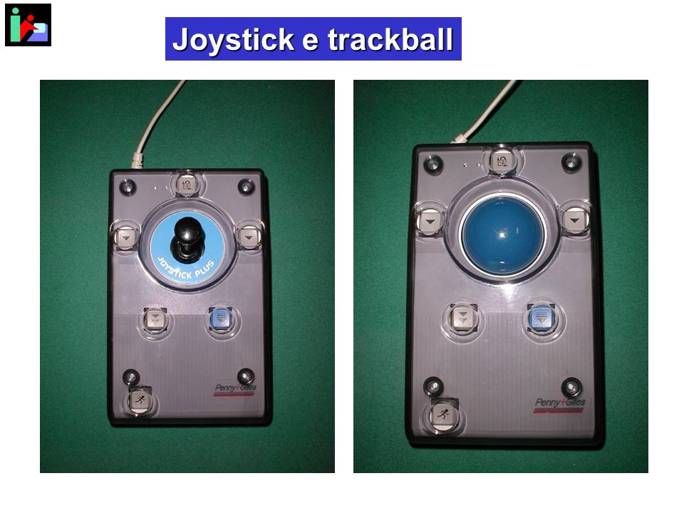 Joystick e trackball