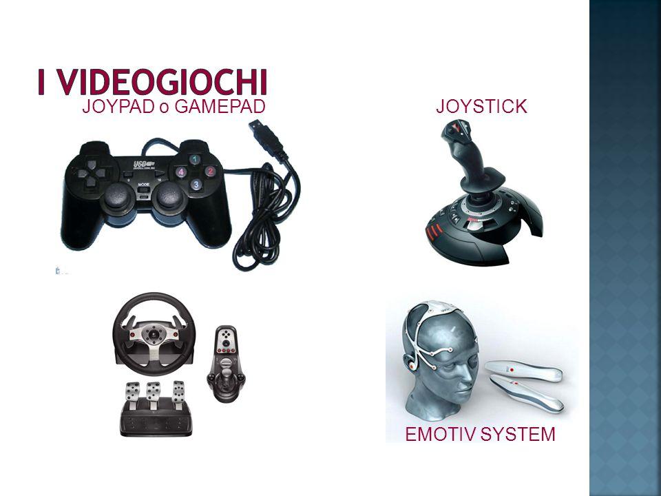 I VIDEOGIOCHI JOYPAD o GAMEPAD JOYSTICK EMOTIV SYSTEM