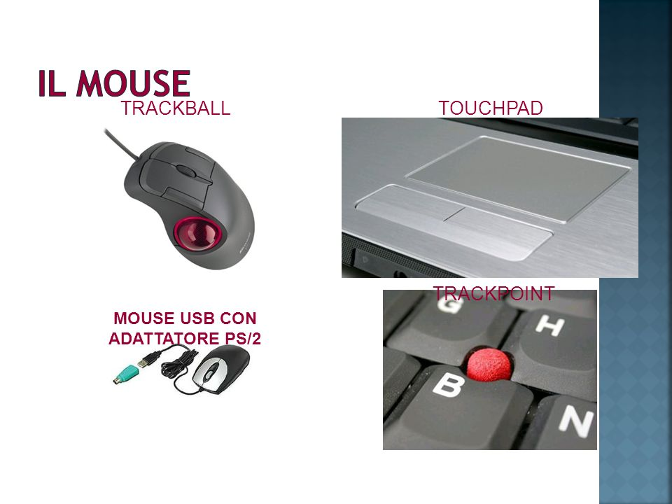MOUSE USB CON ADATTATORE PS/2