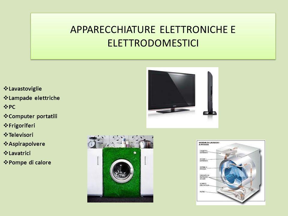 APPARECCHIATURE ELETTRONICHE E ELETTRODOMESTICI