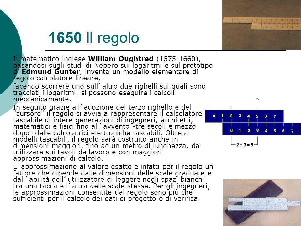 1650 Il regolo