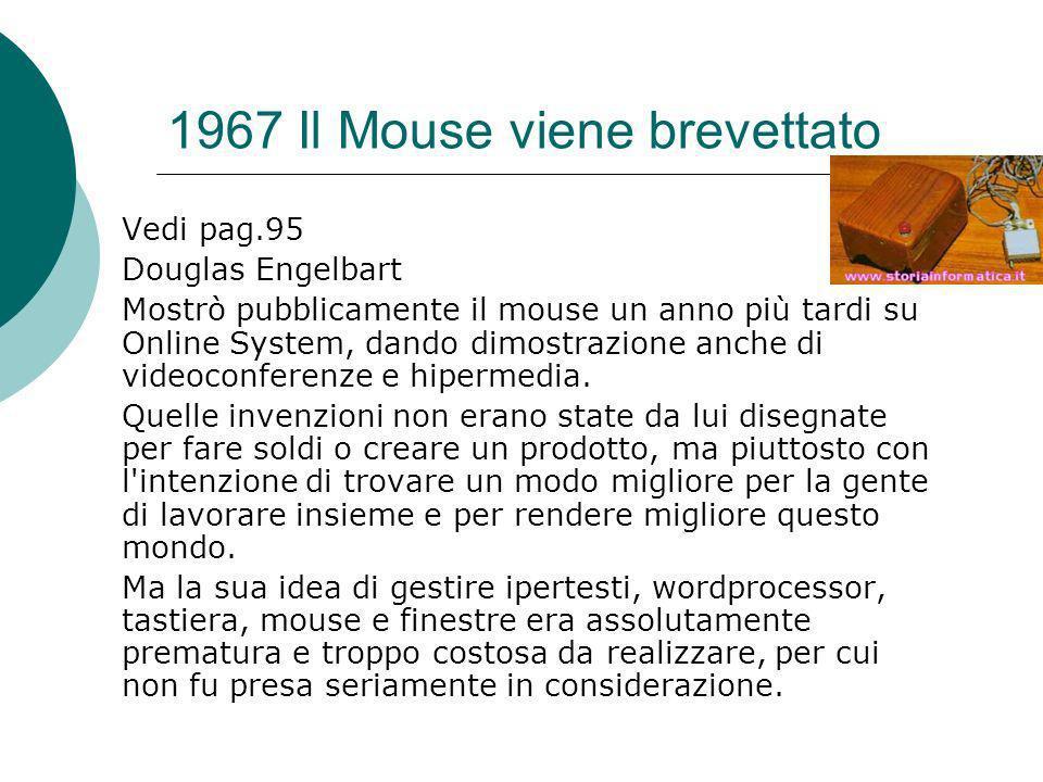 1967 Il Mouse viene brevettato