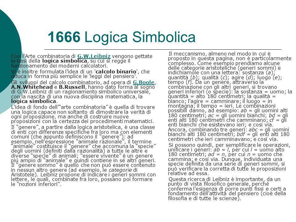 1666 Logica Simbolica