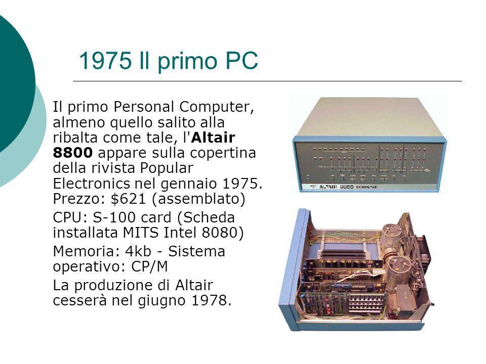 1975 Il primo PC