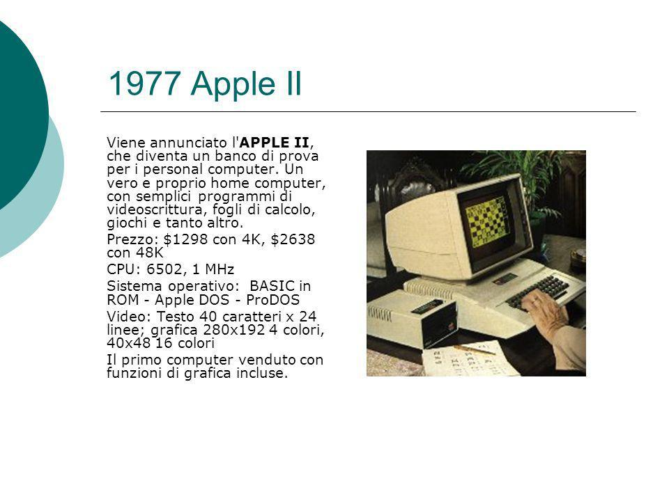 1977 Apple II