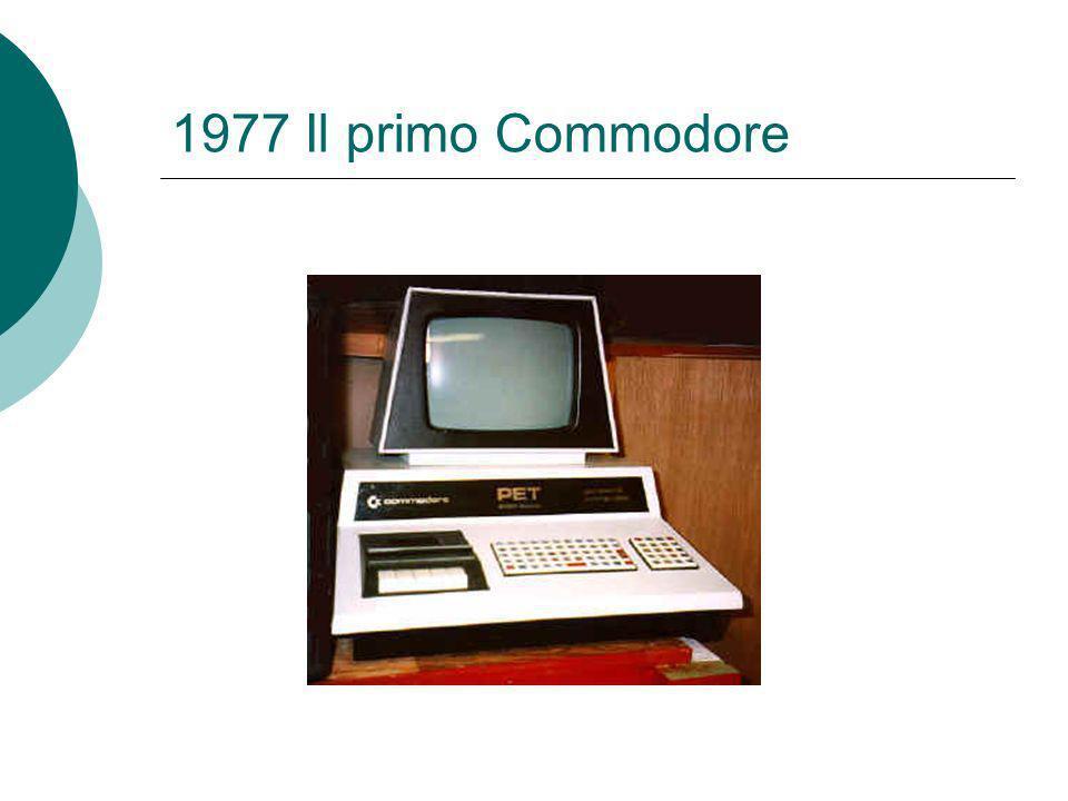 1977 Il primo Commodore