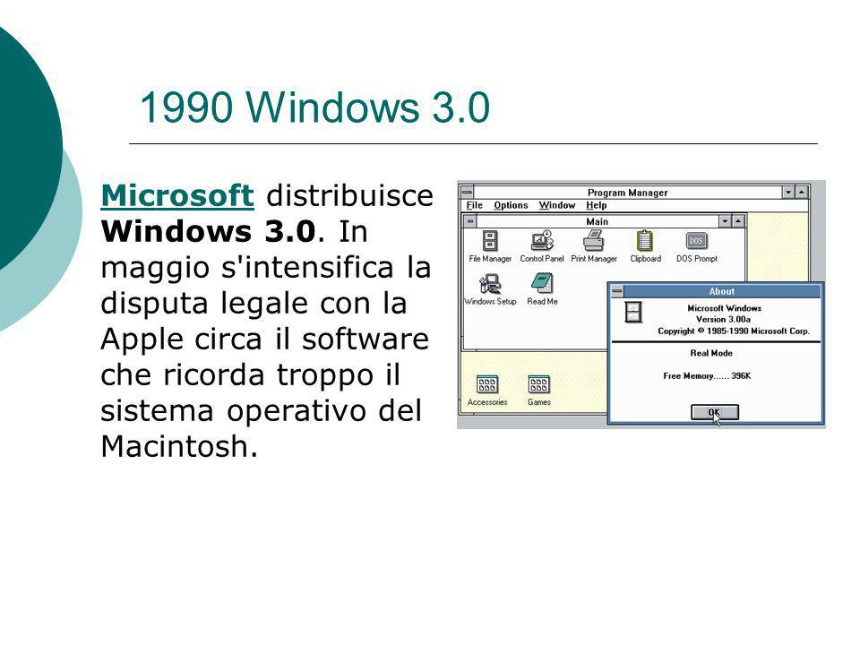 1990 Windows 3.0