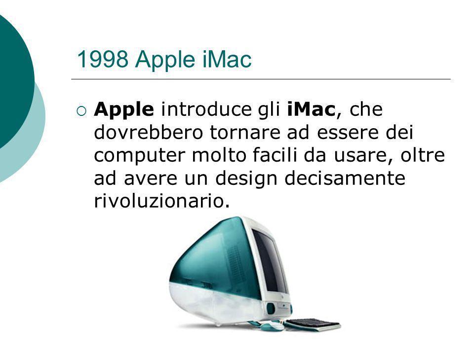 1998 Apple iMac