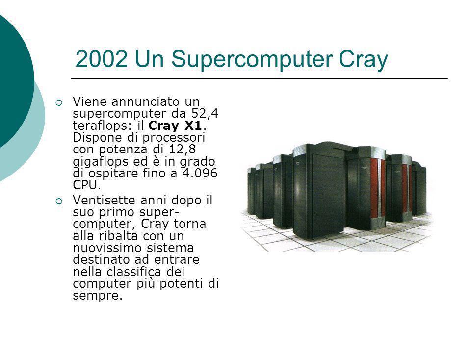 2002 Un Supercomputer Cray