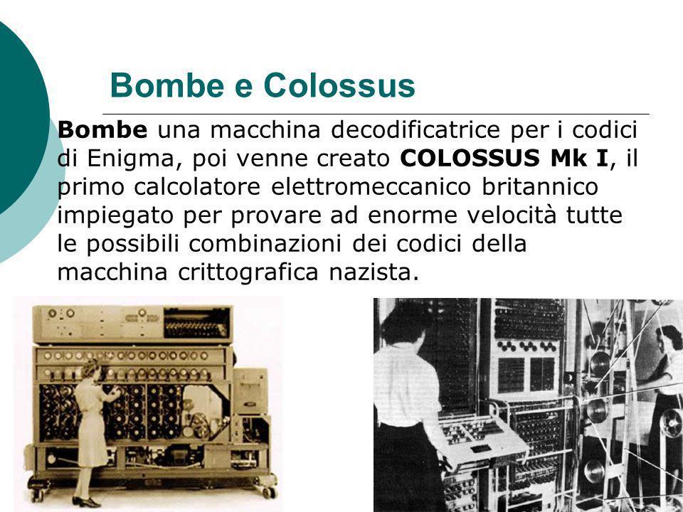Bombe e Colossus