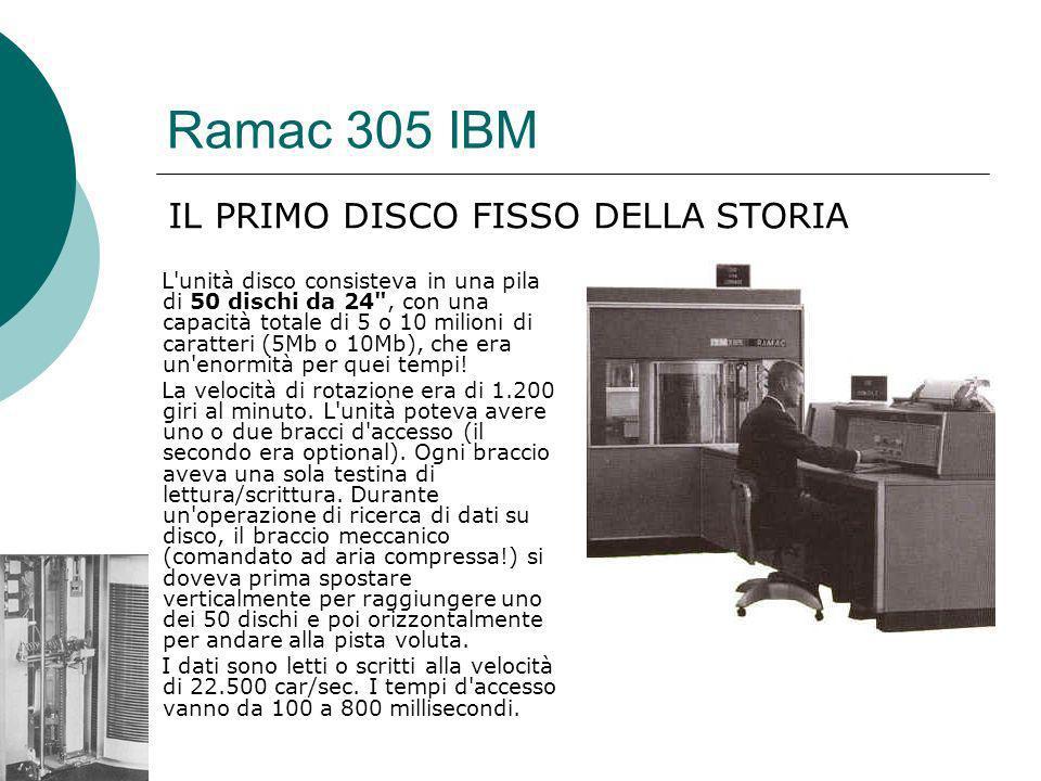 Ramac 305 IBM IL PRIMO DISCO FISSO DELLA STORIA