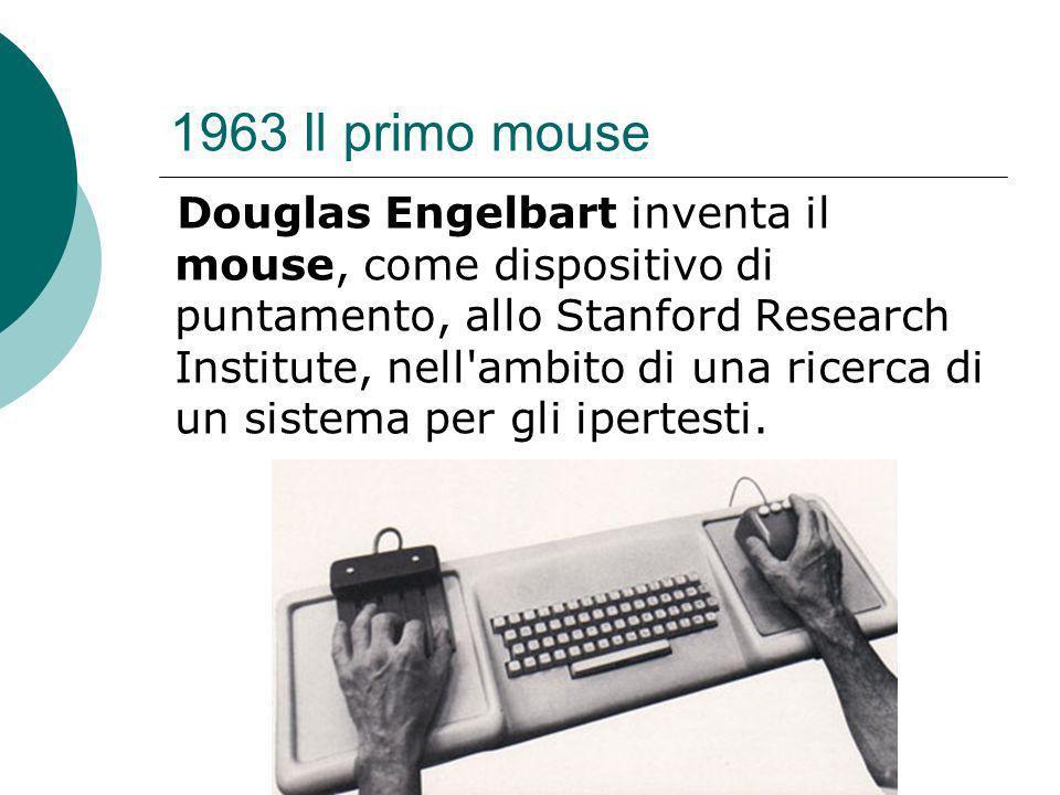 1963 Il primo mouse