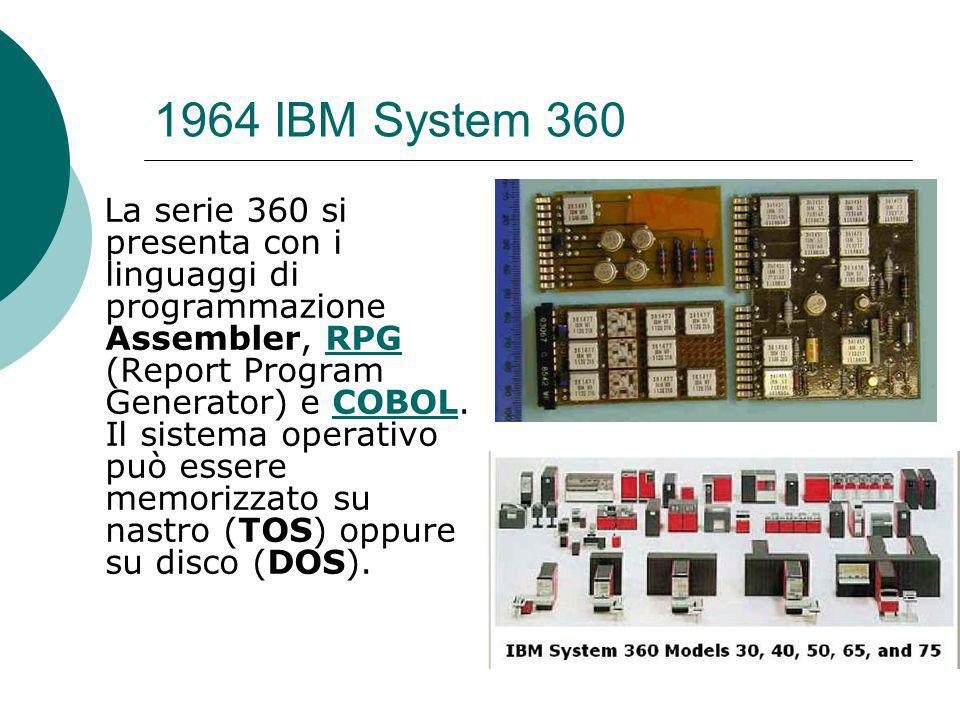 1964 IBM System 360