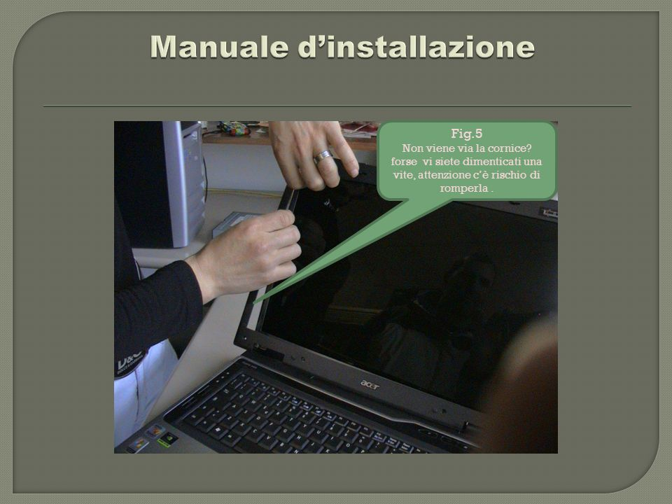 Manuale d'installazione