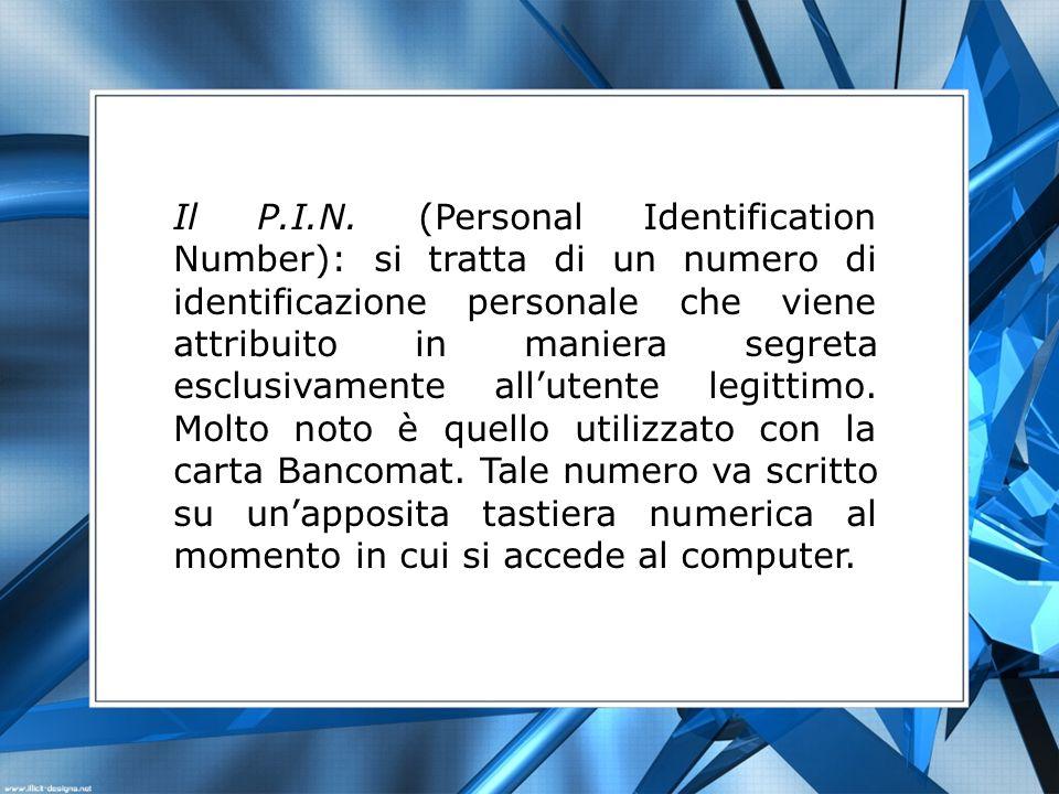 Il P.I.N.