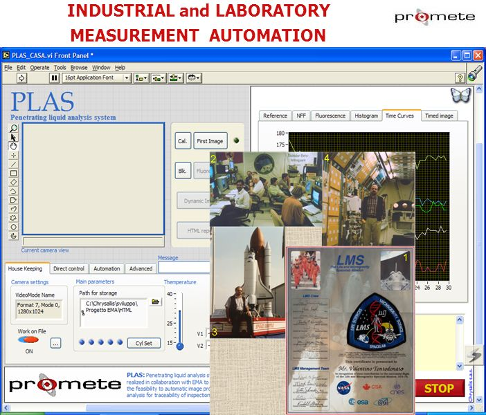 INDUSTRIAL and LABORATORY MEASUREMENT AUTOMATION