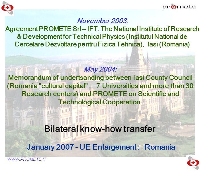 January 2007 - UE Enlargement : Romania