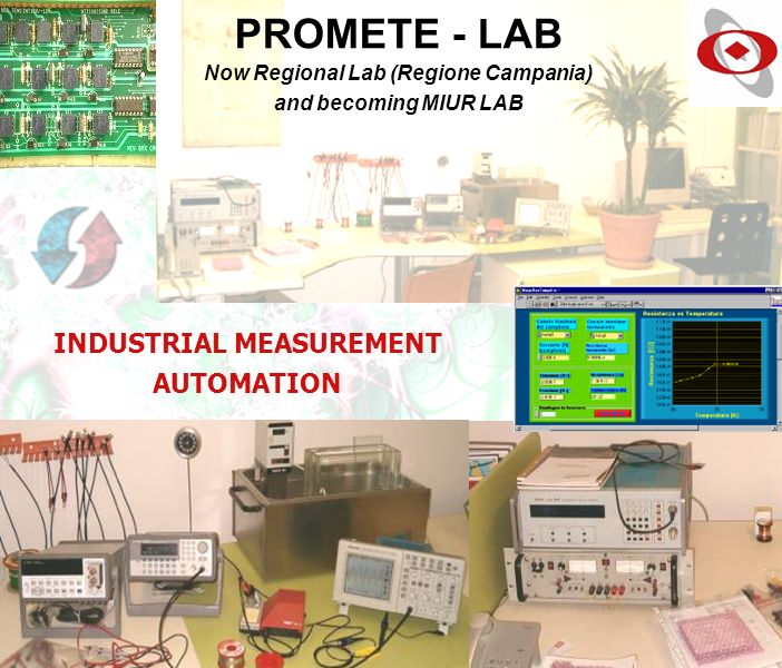 Now Regional Lab (Regione Campania) INDUSTRIAL MEASUREMENT AUTOMATION