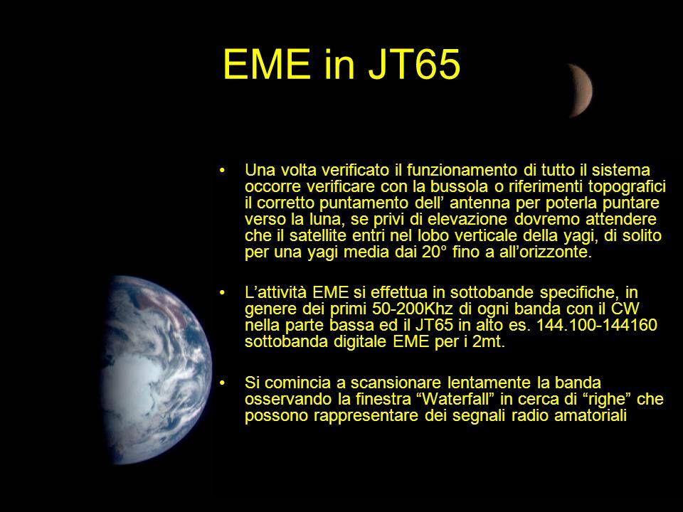EME in JT65