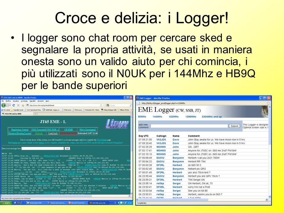 Croce e delizia: i Logger!