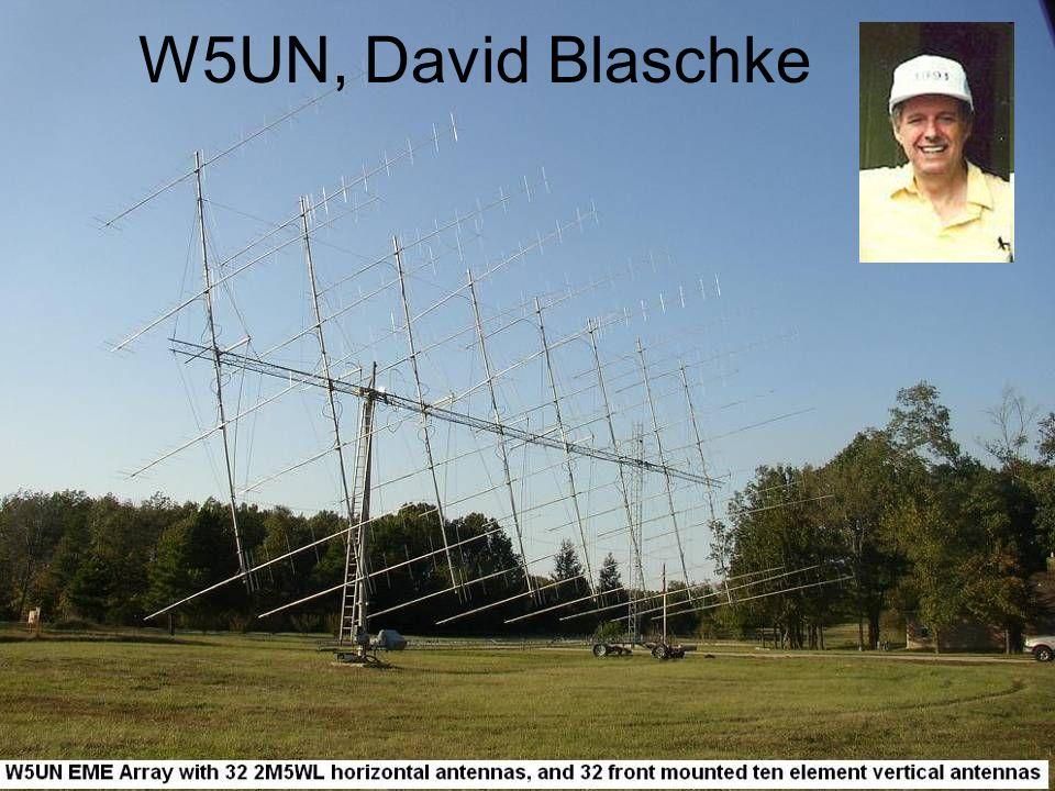 W5UN, David Blaschke