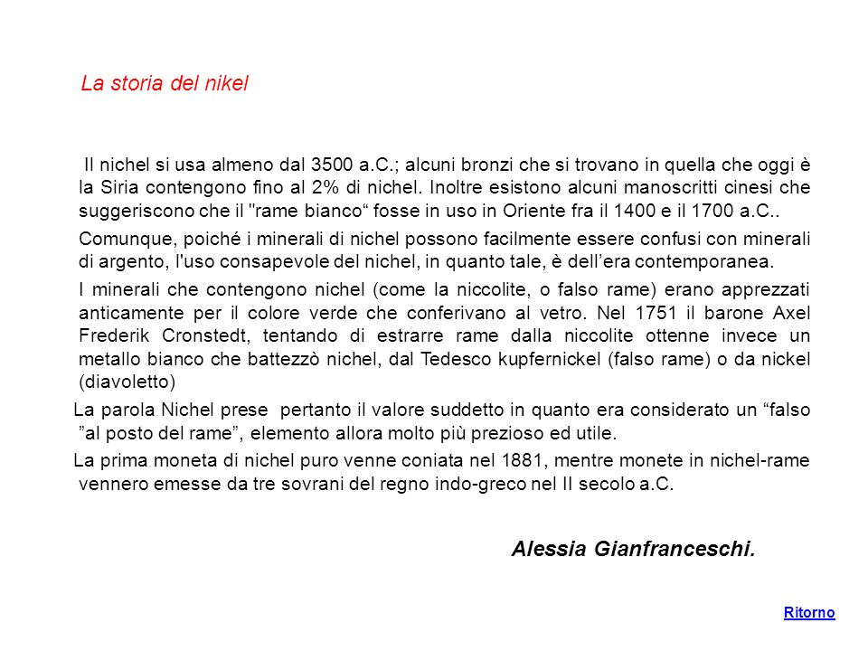 Alessia Gianfranceschi.