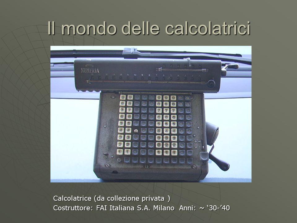 Il mondo delle calcolatrici