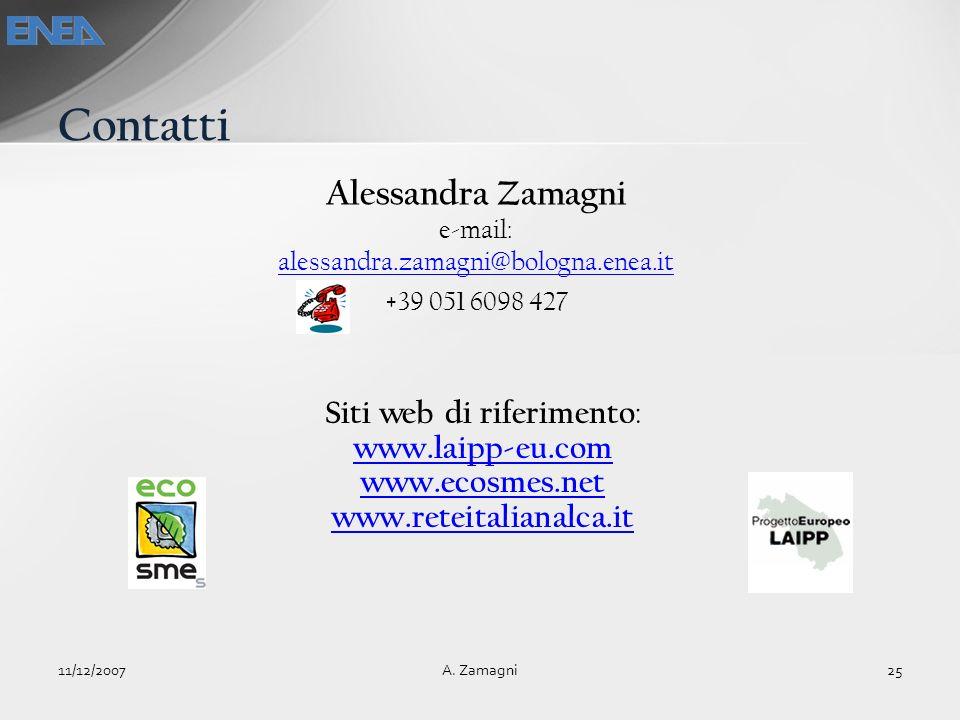 Contatti Alessandra Zamagni Siti web di riferimento: www.laipp-eu.com