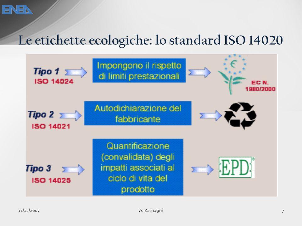 Le etichette ecologiche: lo standard ISO 14020