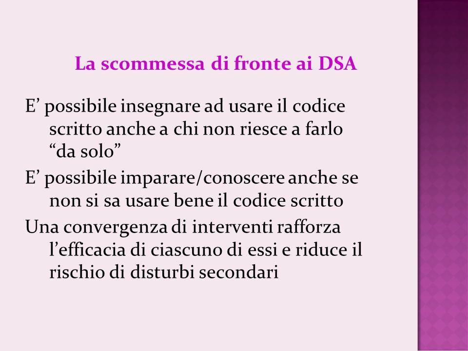 La scommessa di fronte ai DSA