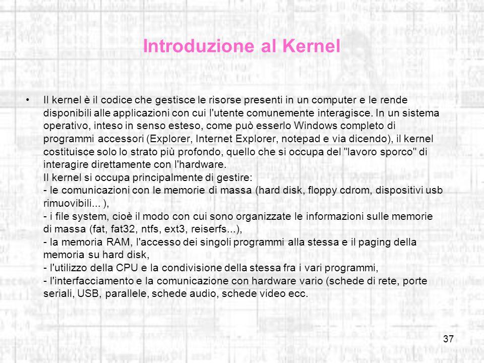 Introduzione al Kernel
