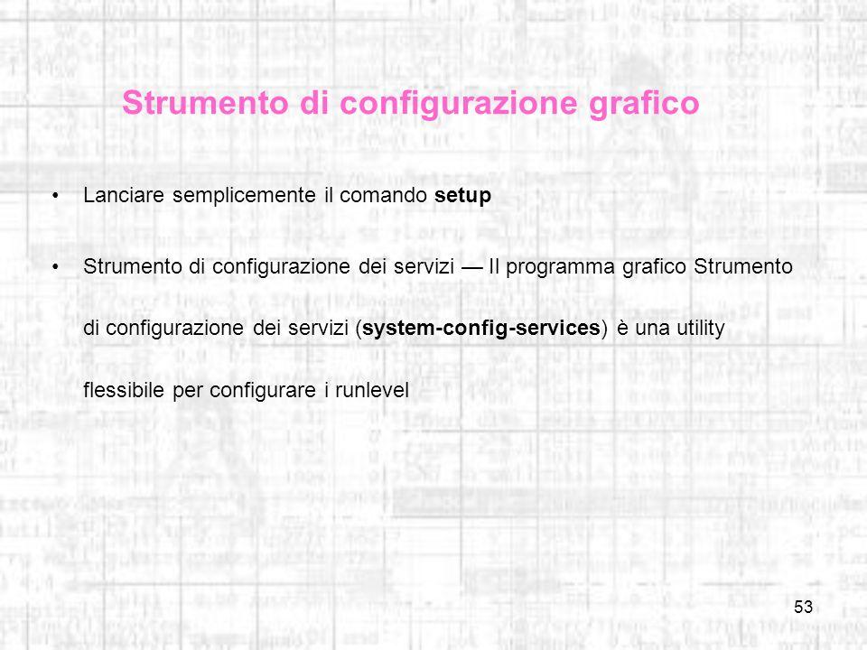 Strumento di configurazione grafico