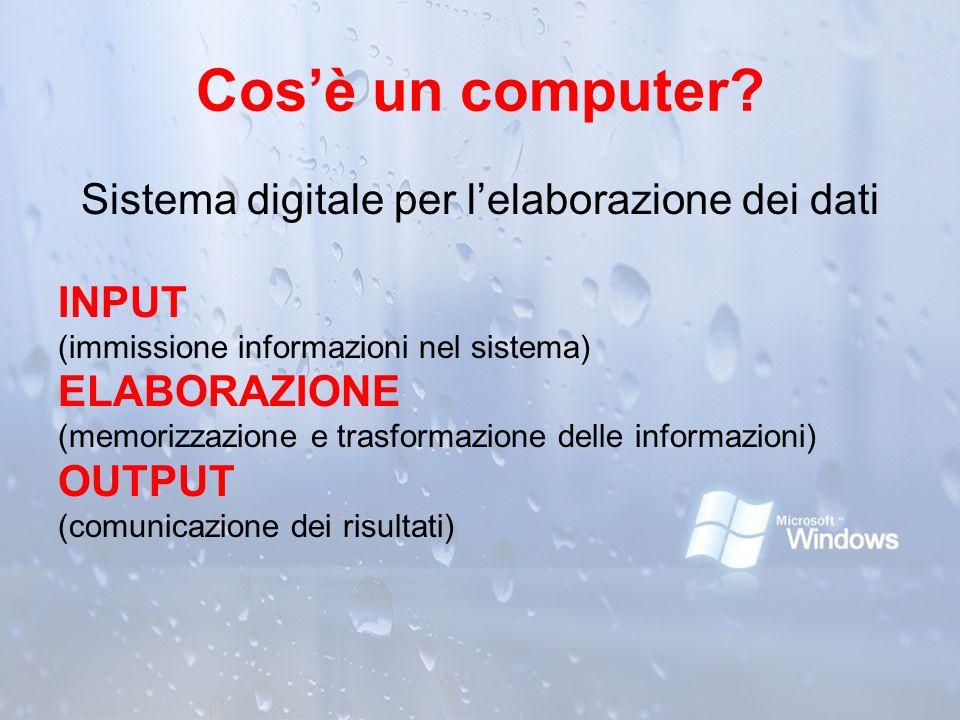 Sistema digitale per l'elaborazione dei dati