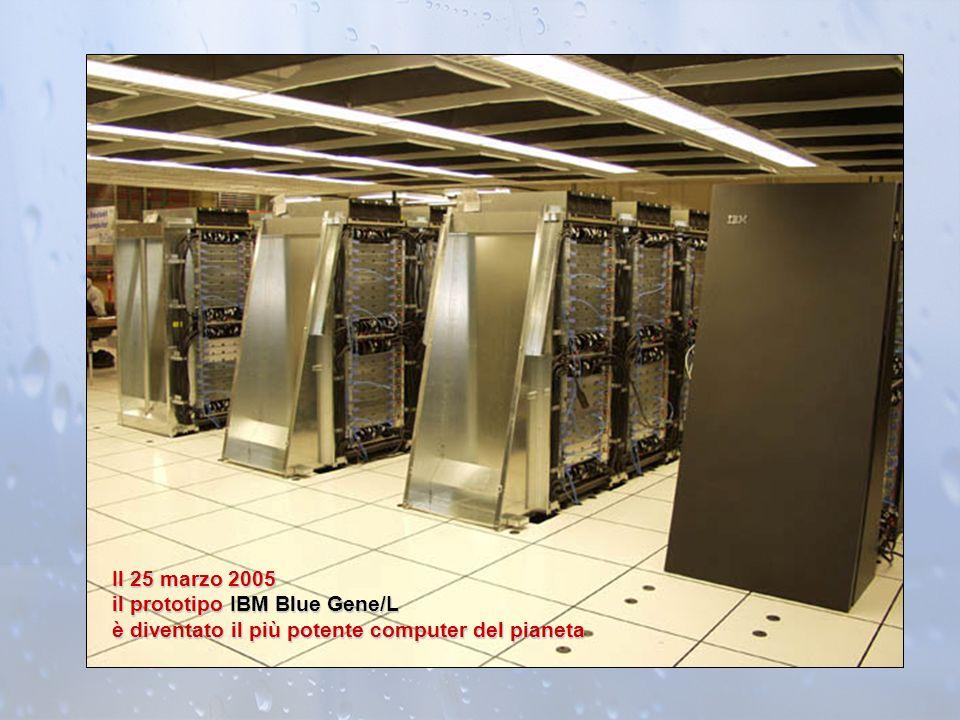 Il 25 marzo 2005 il prototipo IBM Blue Gene/L è diventato il più potente computer del pianeta