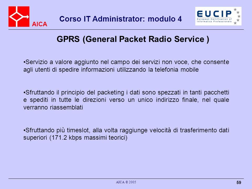 GPRS (General Packet Radio Service )